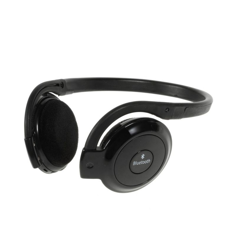casque noir audio st r o bluetooth avec micro et t l commande. Black Bedroom Furniture Sets. Home Design Ideas