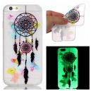 Coque souple pour iPhone SE Phosphorescente motif Attrape Reve