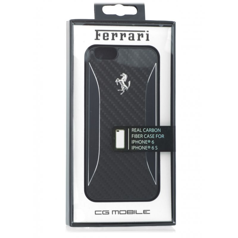 coque iphone 6 ferrari carbon