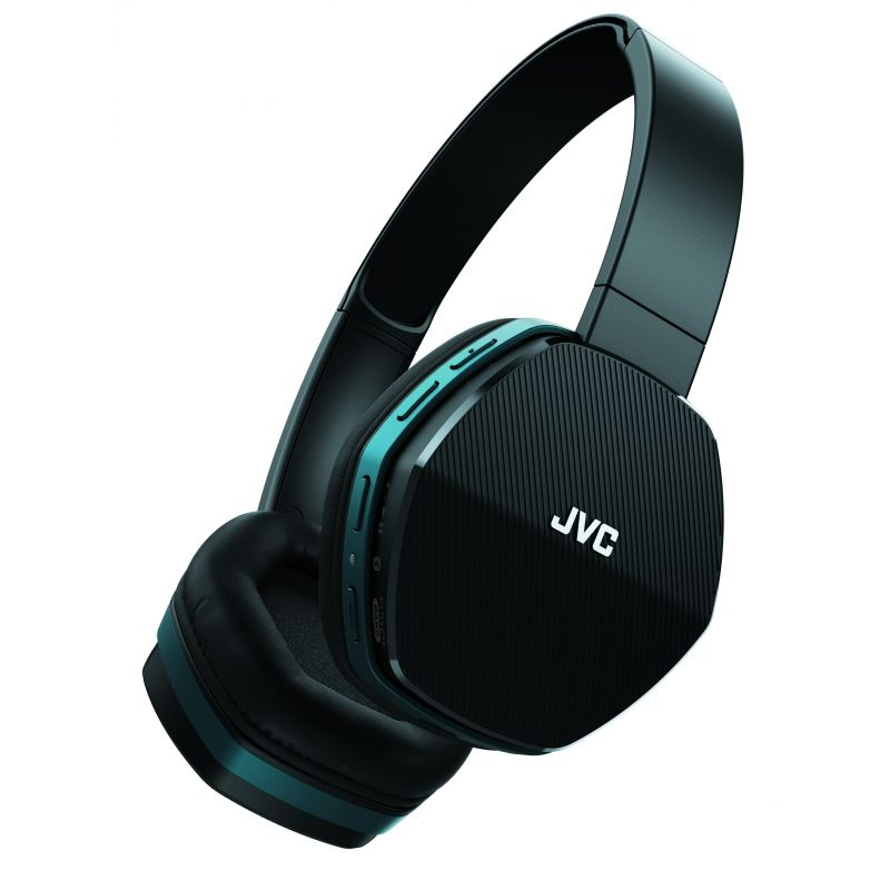 jvc casque bluetooth noir bleu. Black Bedroom Furniture Sets. Home Design Ideas