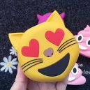 Batterie POWER BANK 2000mAh motif Smiley Chat Compatibilité universelle